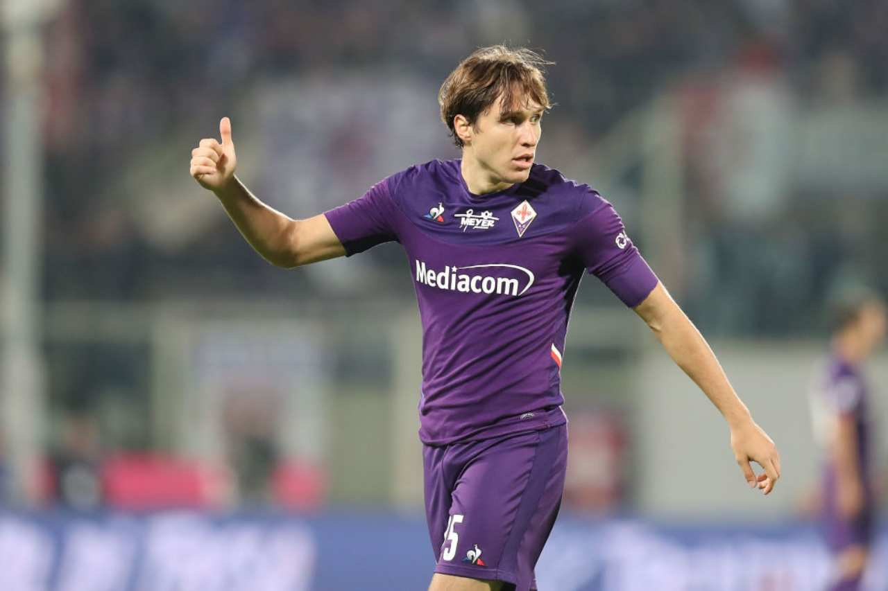 Chiesa, possibile approdo alla Juventus (Getty Images)