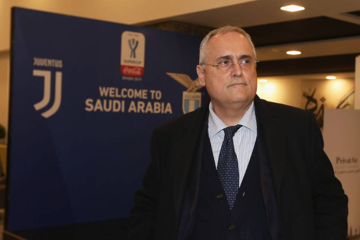 Diaconale propone Lotito come virologo ad honorem (Getty Images)