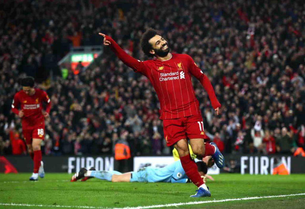 Inter, Salah principale candidato per il post Lautaro (Getty Images)