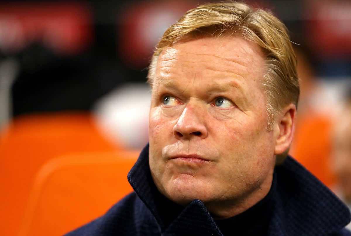 Ronald Koeman, pronto a diventare il nuovo allenatore del Barcellona (Foto: Getty Images)