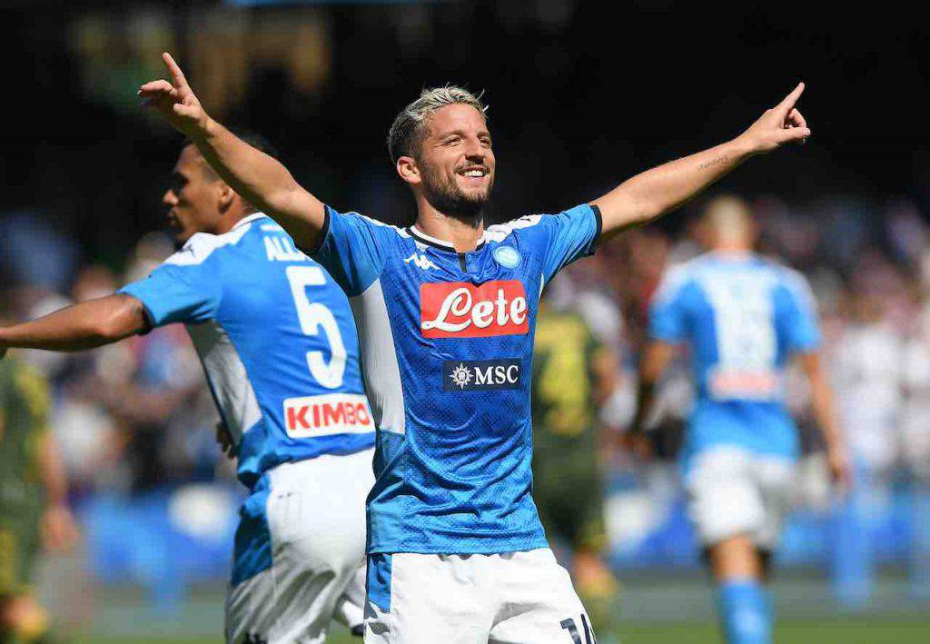 Mertens, accordo con De Laurentiis, pronto il rinnovo (Getty Images)
