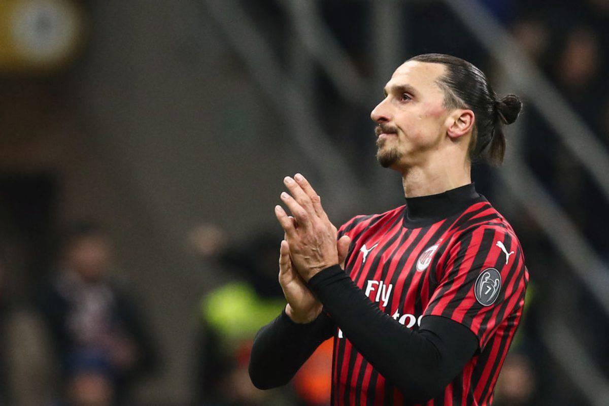 Ibrahimovic, messaggio criptico che spaventa i tifosi del Milan (Getty Images)