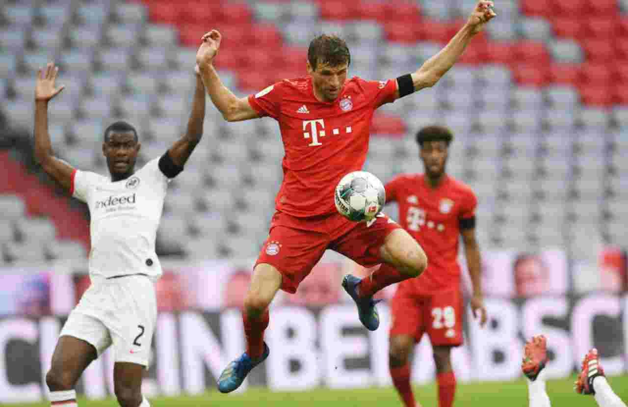 Bundesliga, highlights Bayern Monaco-Eintracht Francoforte: gol e azioni - VIDEO