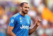 """Chiellini e il retroscena sulla finale di Cardiff: """"Vi svelo cosa accadde"""" (getty Images)"""