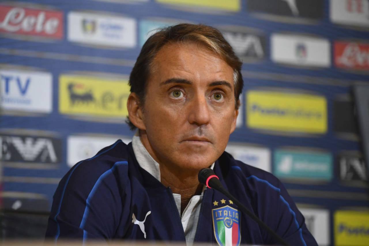 """Mancini, la promessa: """"La nazionale a Bergamo per ricordare le vittime"""" (Getty Images)"""