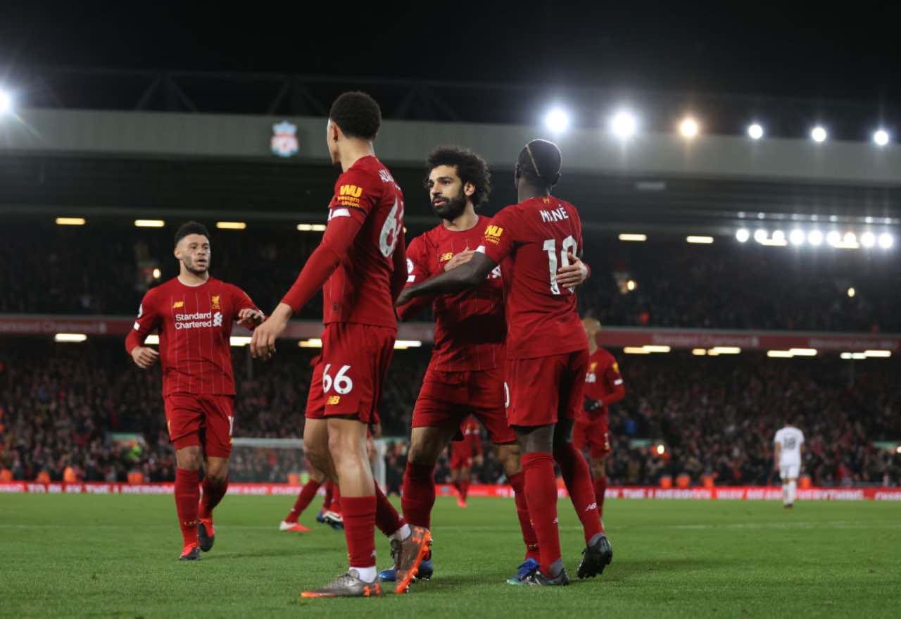 Liverpool, festa in anticipo per la Premier League: l'incredibile iniziativa dei tifosi (Getty Images)