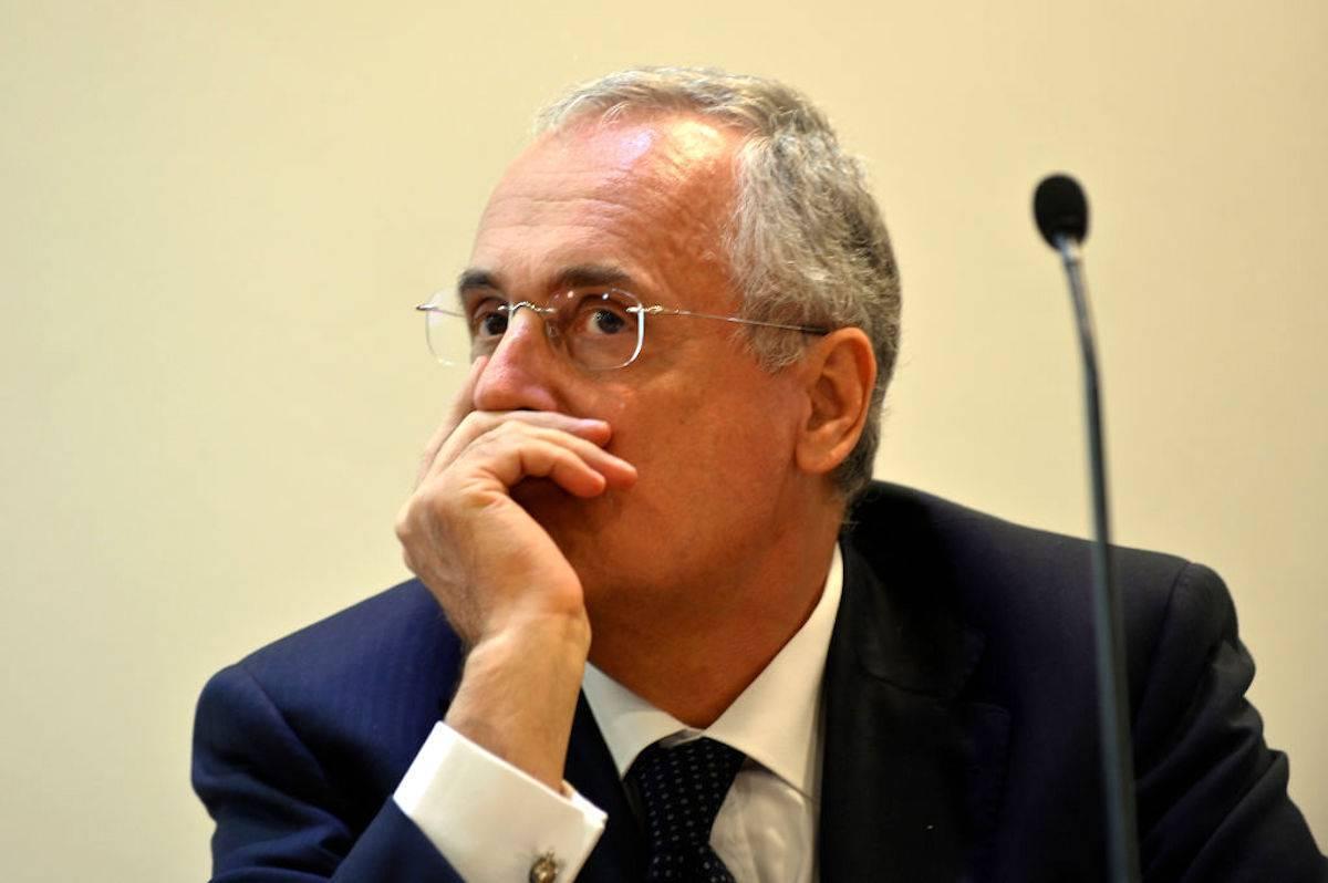 Lotito, la Procura apre inchiesta dopo le parole su Juventus-Inter