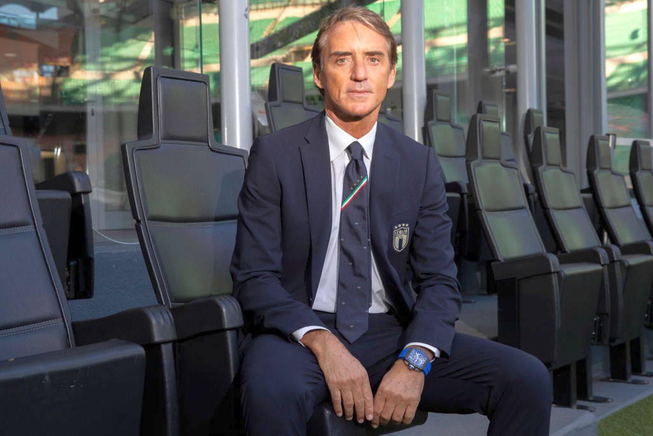 """Nazionale, Mancini controcorrente """"Rinvio europeo utile per l'Italia"""""""
