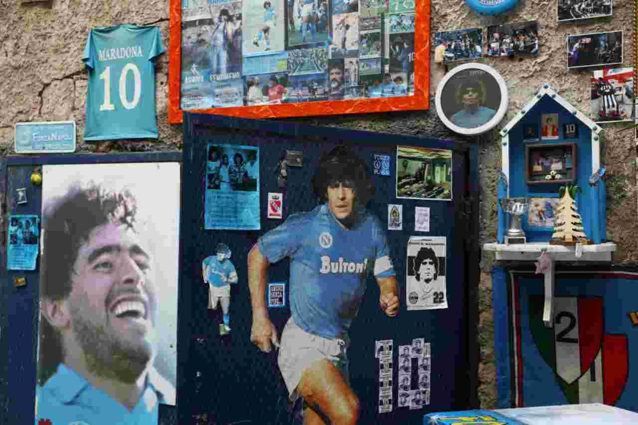 Maradona, post Instagram per il primo scudetto del Napoli