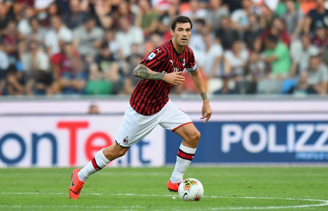 Romagnoli-Milan, si lavora al rinnovo: i rossoneri vogliono blindarlo (Getty Images)