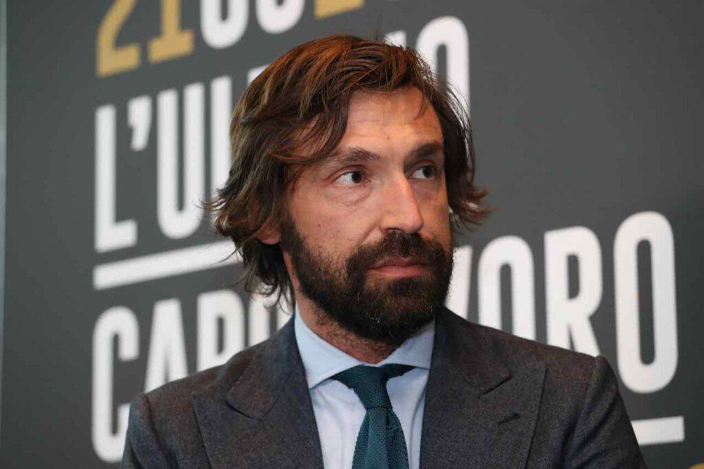 Andrea Pirlo alla guida della Juventus U23 (Getty Images)