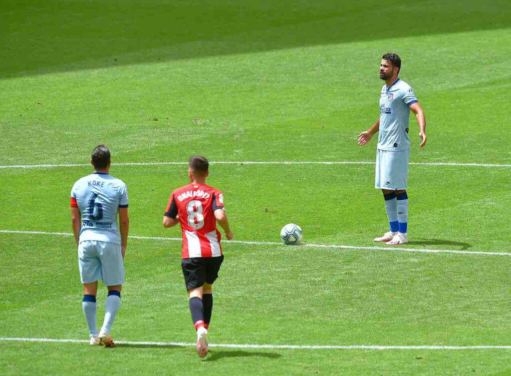 Atletico Madrid, il bellissimo gesto di Diego Costa (Getty Images)