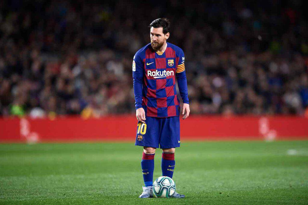 Barcellona, si ferma Messi (Getty Images)