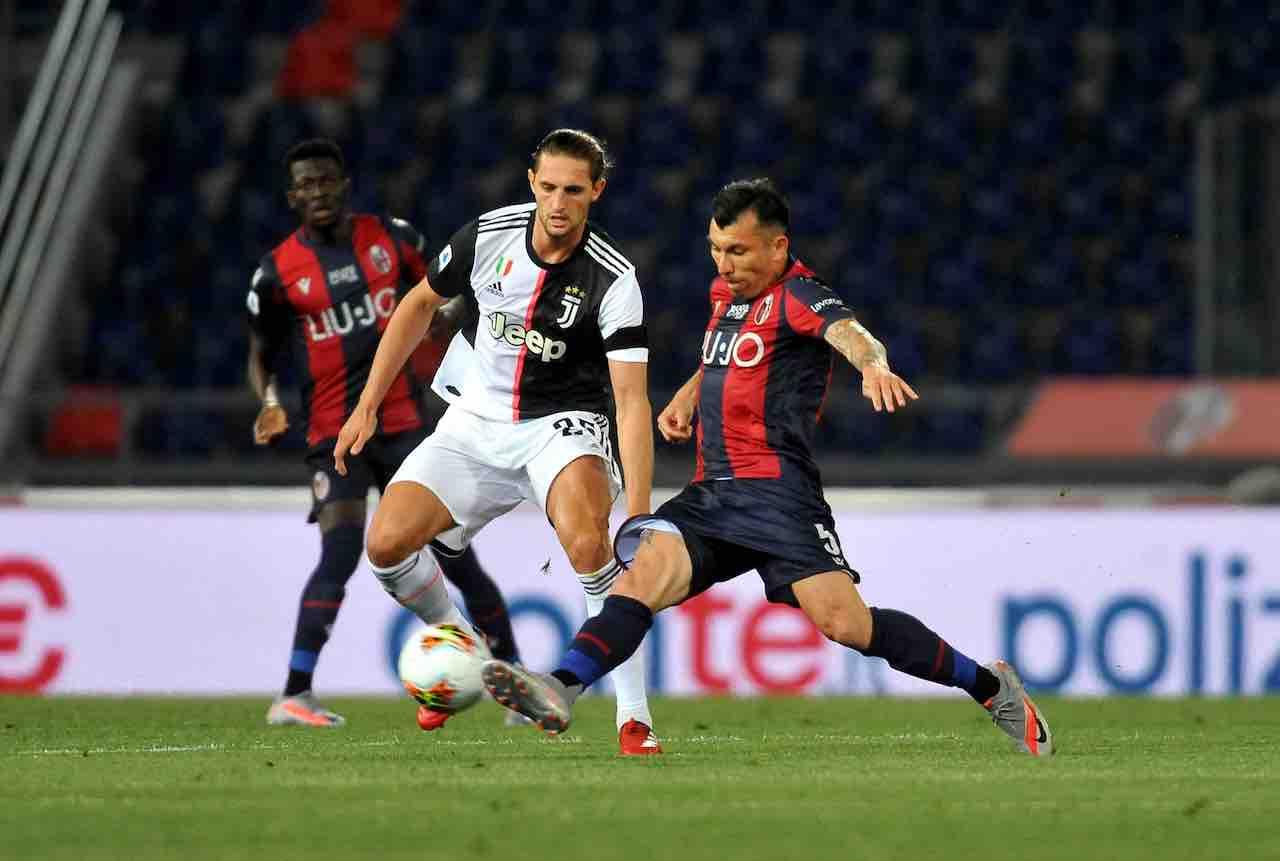 Juventus-Bologna precedenti