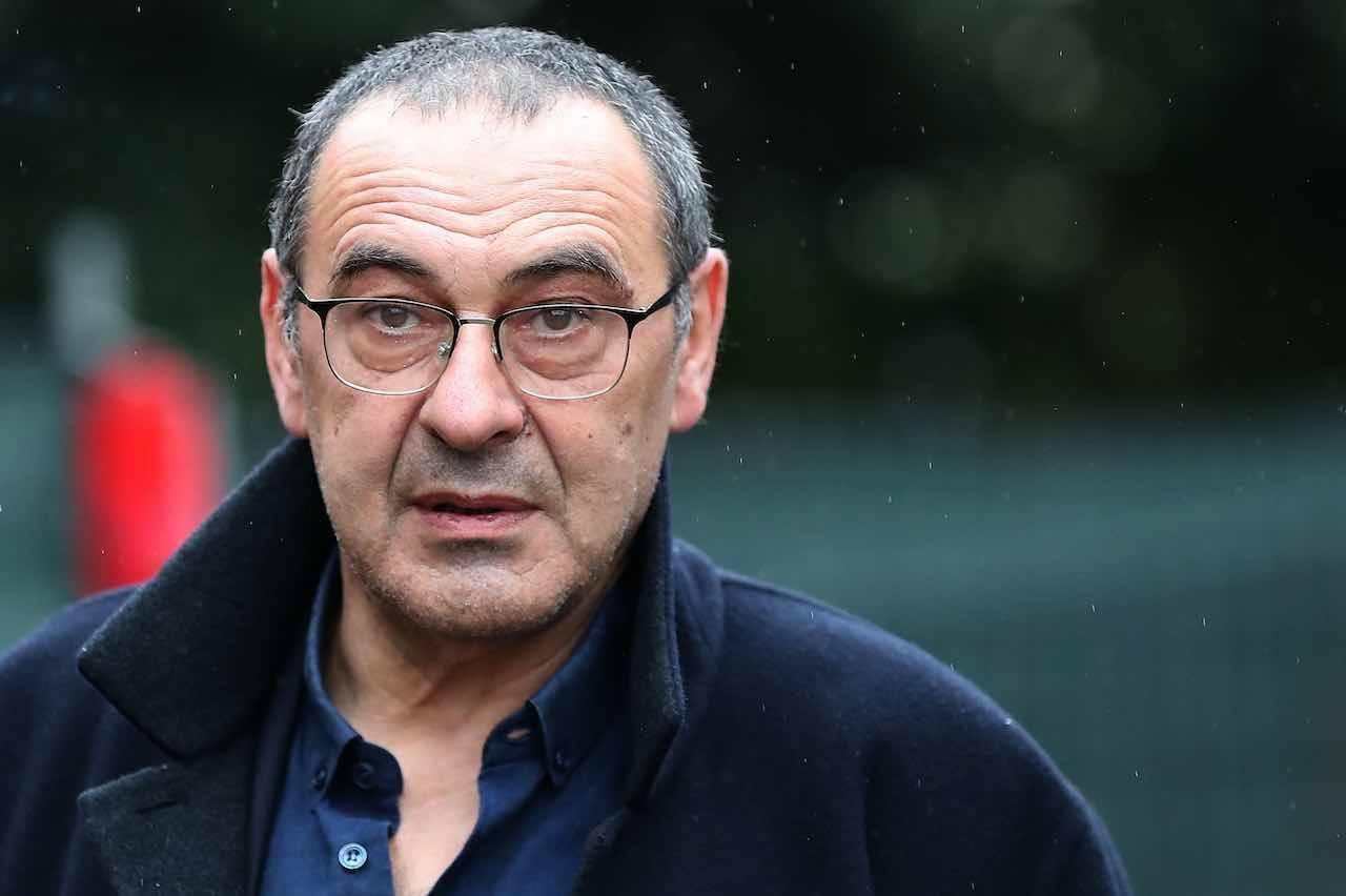 Sarri Sassuolo Juventus