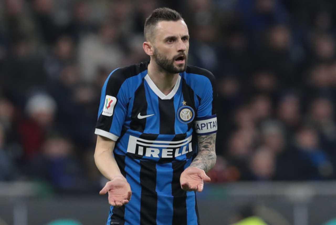 Brozovic si ferma, guai per l'Inter (Getty Images)