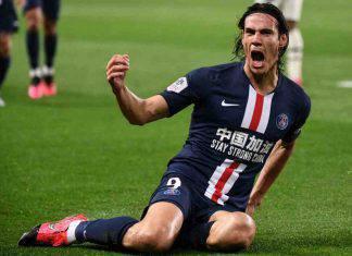 Cavani, ottimismo per l'affare con l'Inter (Getty Images)