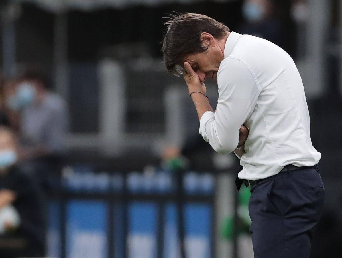 Conte rischia il flop al primo anno di Inter (Getty Images)