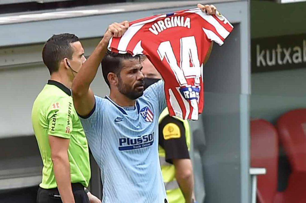 Diego Costa, dedica speciale dopo il gol (Getty Images)