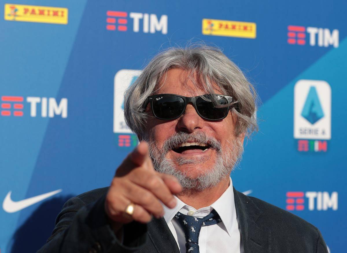 Il presidente della Sampdoria Ferrero attaccato duramente da Vierchowod (Getty Images)
