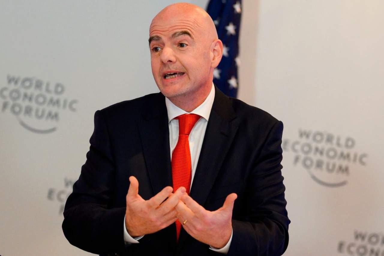 FIFA, il discorso di Infantino per la ripresa (Getty Images)