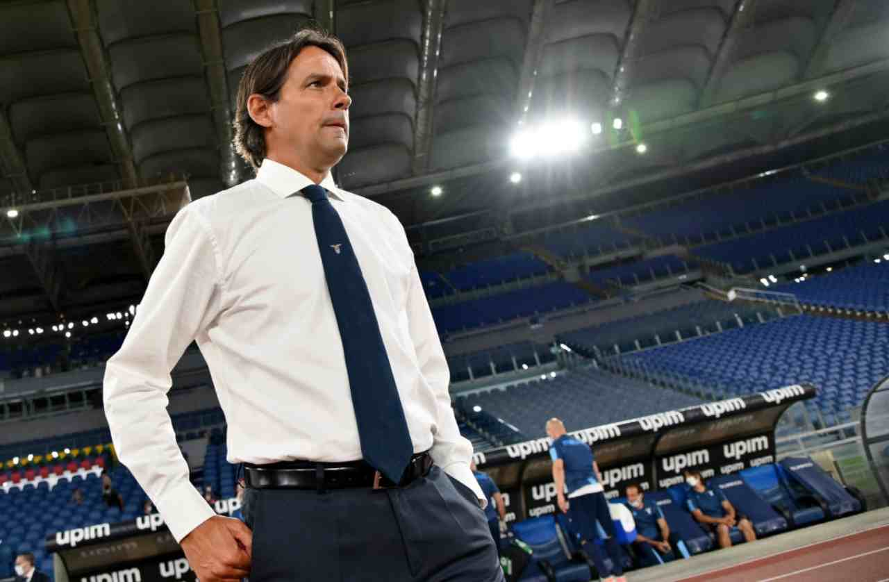 Inzaghi in conferenza stampa (Getty Images)