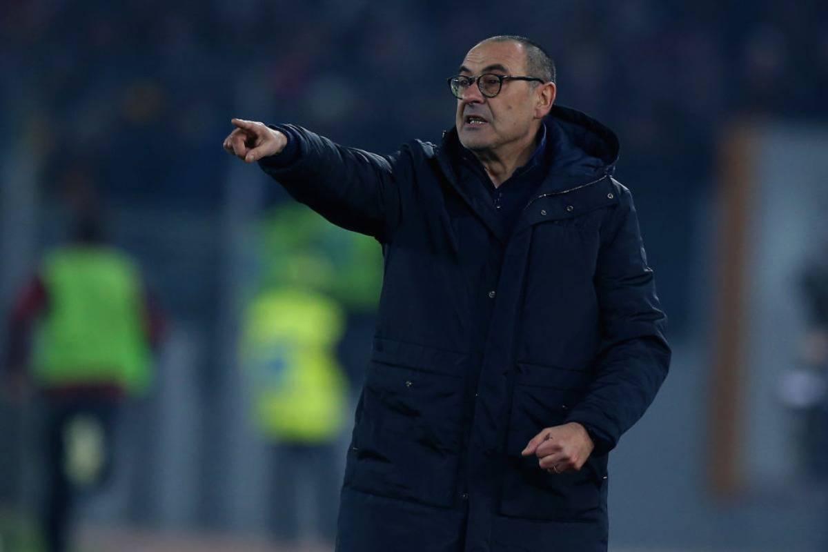 Sarri Genoa Juventus