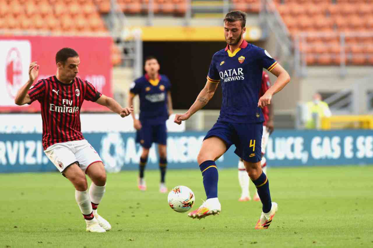 Milan-Roma si chiude sul 2-0 (Getty Images)