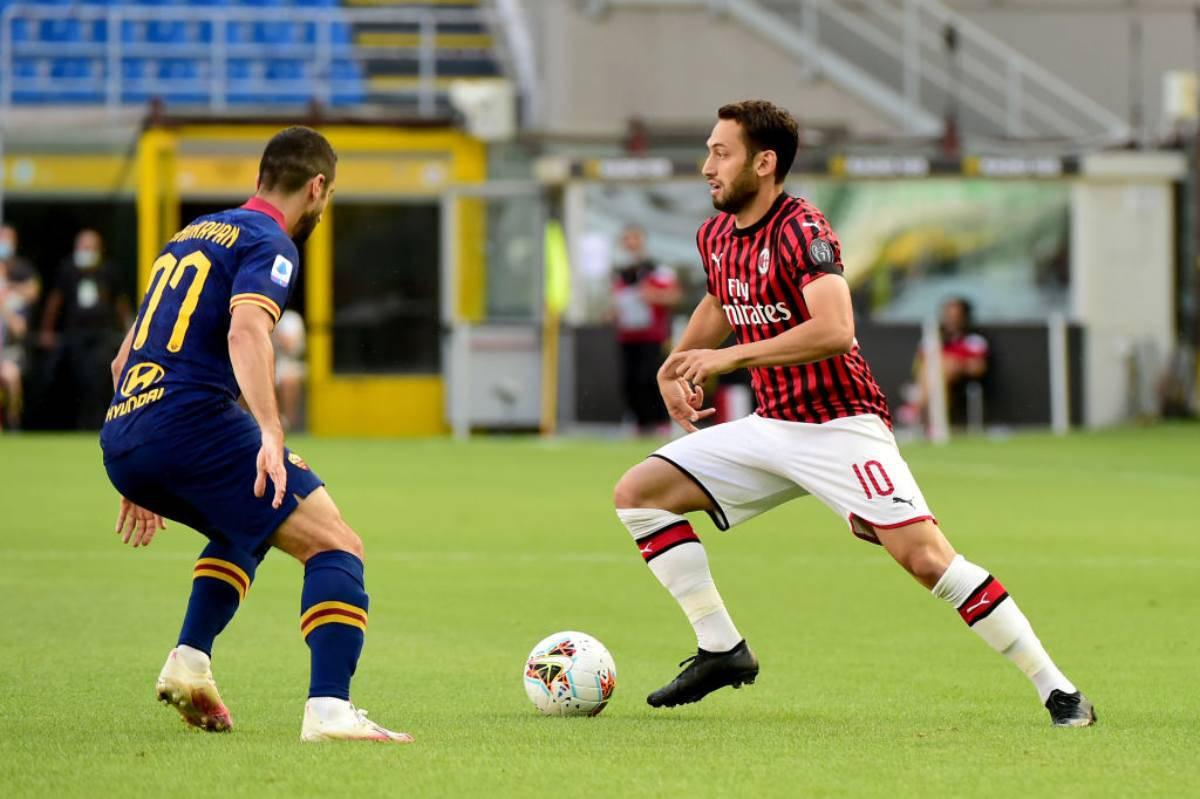 Highlights Milan-Roma
