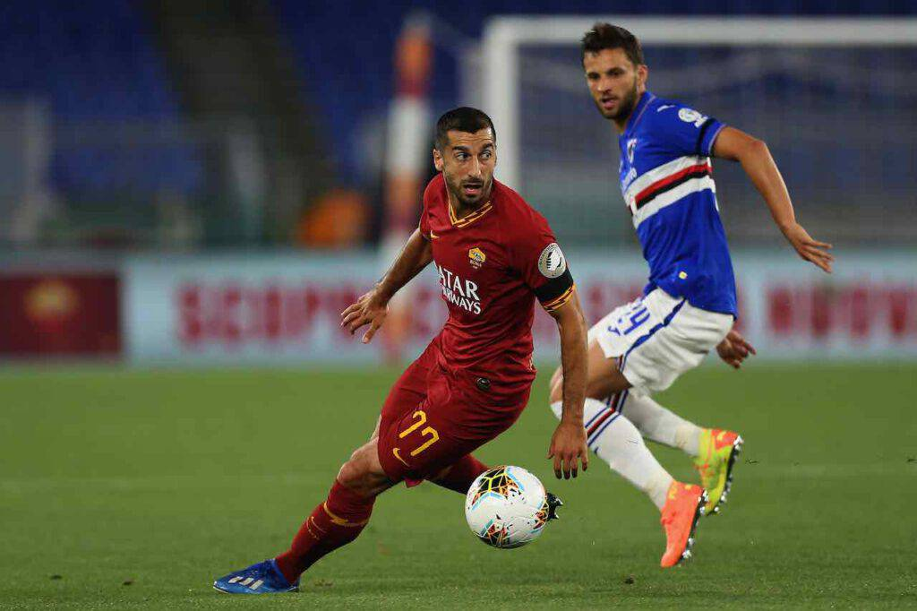 Mkhitaryan resta alla Roma (Getty Images)
