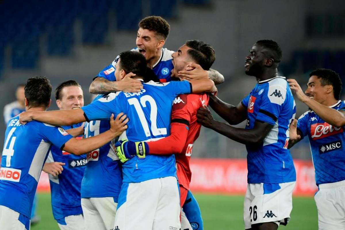 Napoli, De Laurentiis e il retroscena sull'allenatore