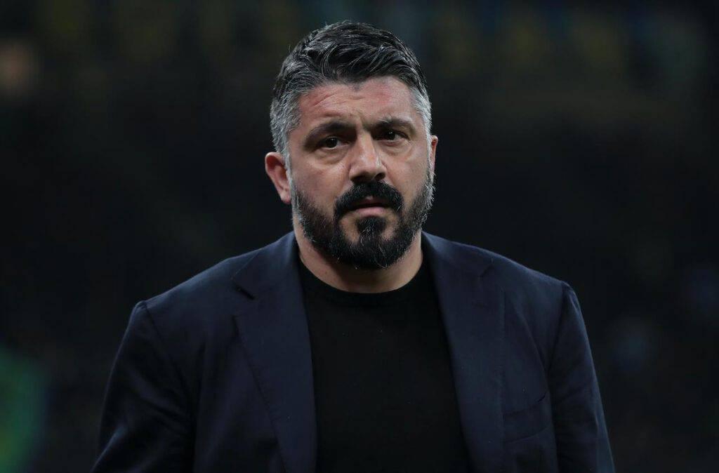 Napoli-Inter, commozione per Gattuso nel ricordo della sorella (Getty Images)