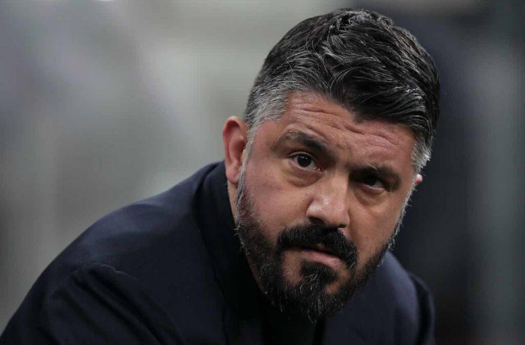 Napoli-Inter, occhi lucidi per Gattuso (Getty Images)