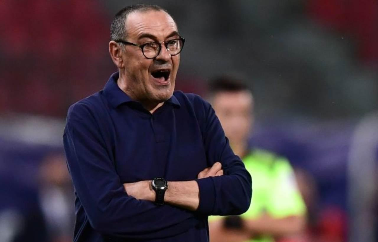 Sarri, conferenza pre Genoa-Juventus (Getty Images)