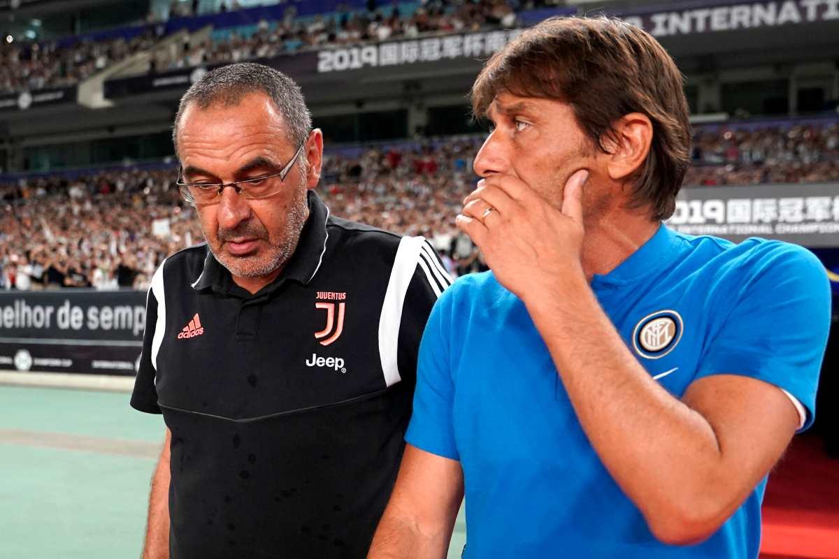 Sarri e Conte al primo anno di Juventus e Inter (Getty Images)