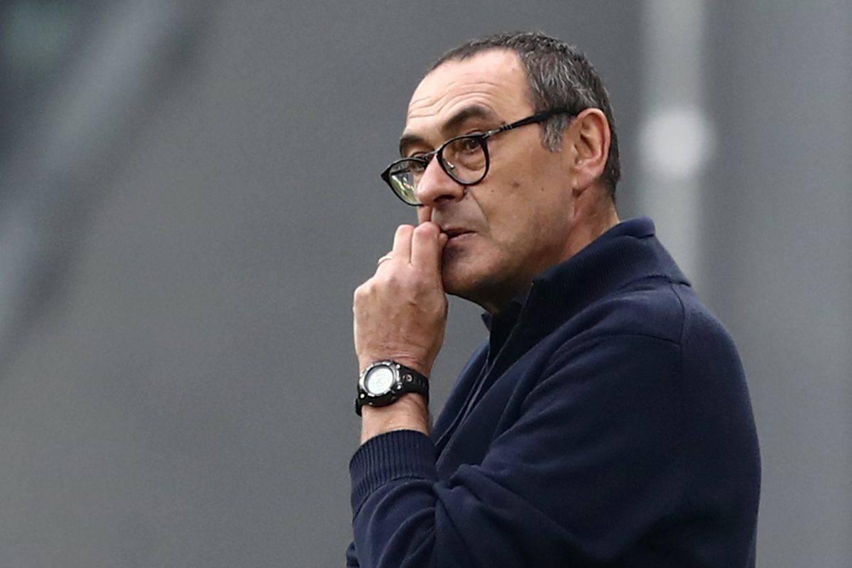 Sarri primo imputato dopo la sconfitta in Coppa Italia (Getty Images)