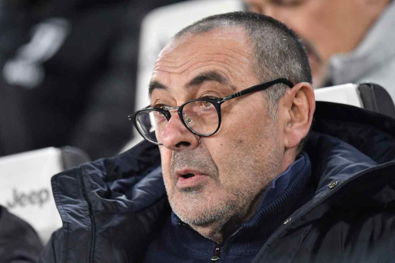 Sarri, le parole alla vigilia di Napoli-Juventus (Getty Images)