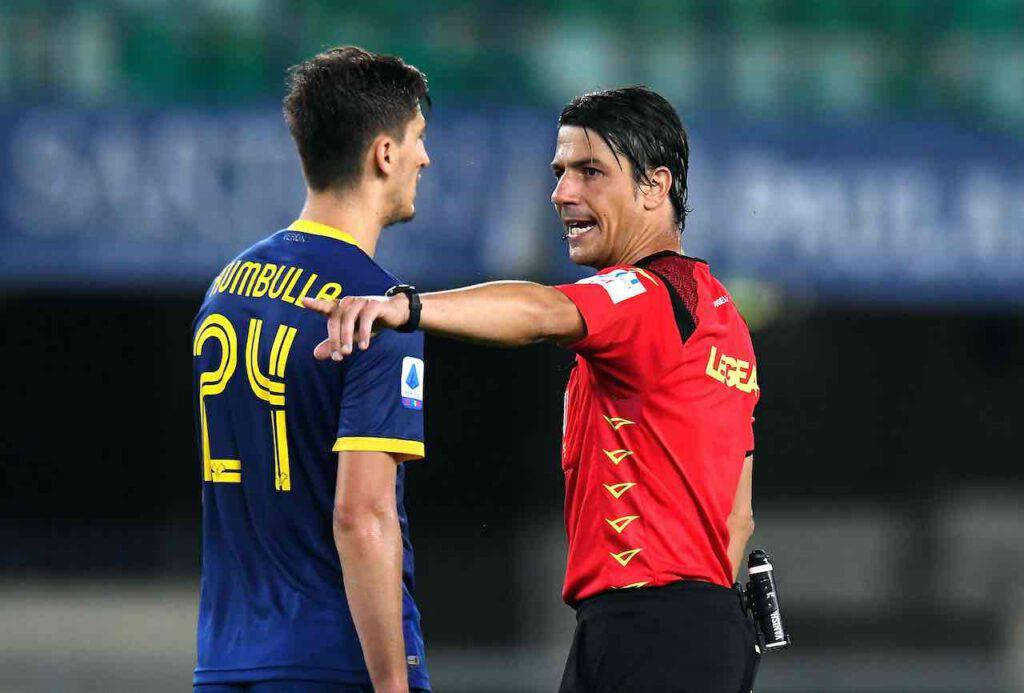 Serie A, niente più fischietto agli arbitri (Getty Images)