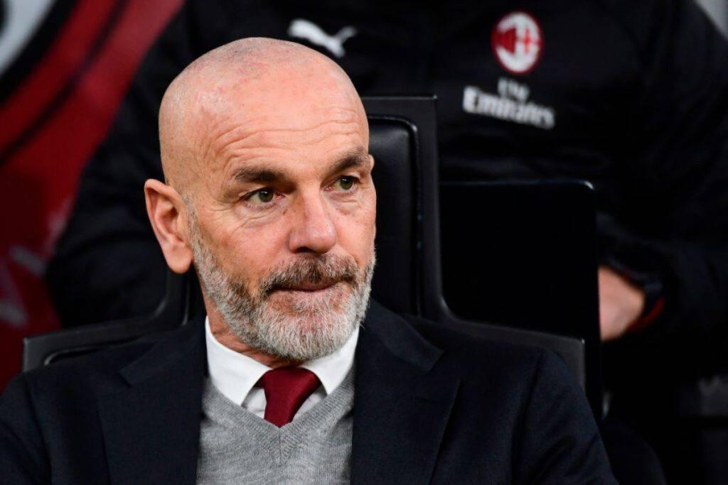 Stefano Pioli nel post partita contro il Lecce (Getty Images)
