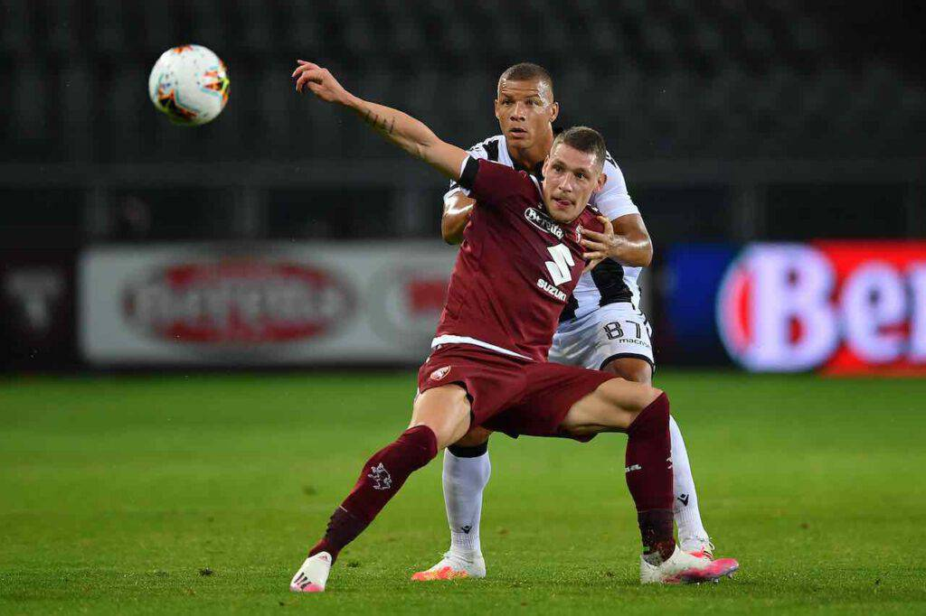 Torino-Udinese, le azioni chiave del match (Getty Images)