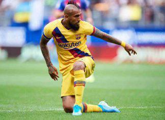 Vidal, like sui social con indizio per il futuro (Getty Images)