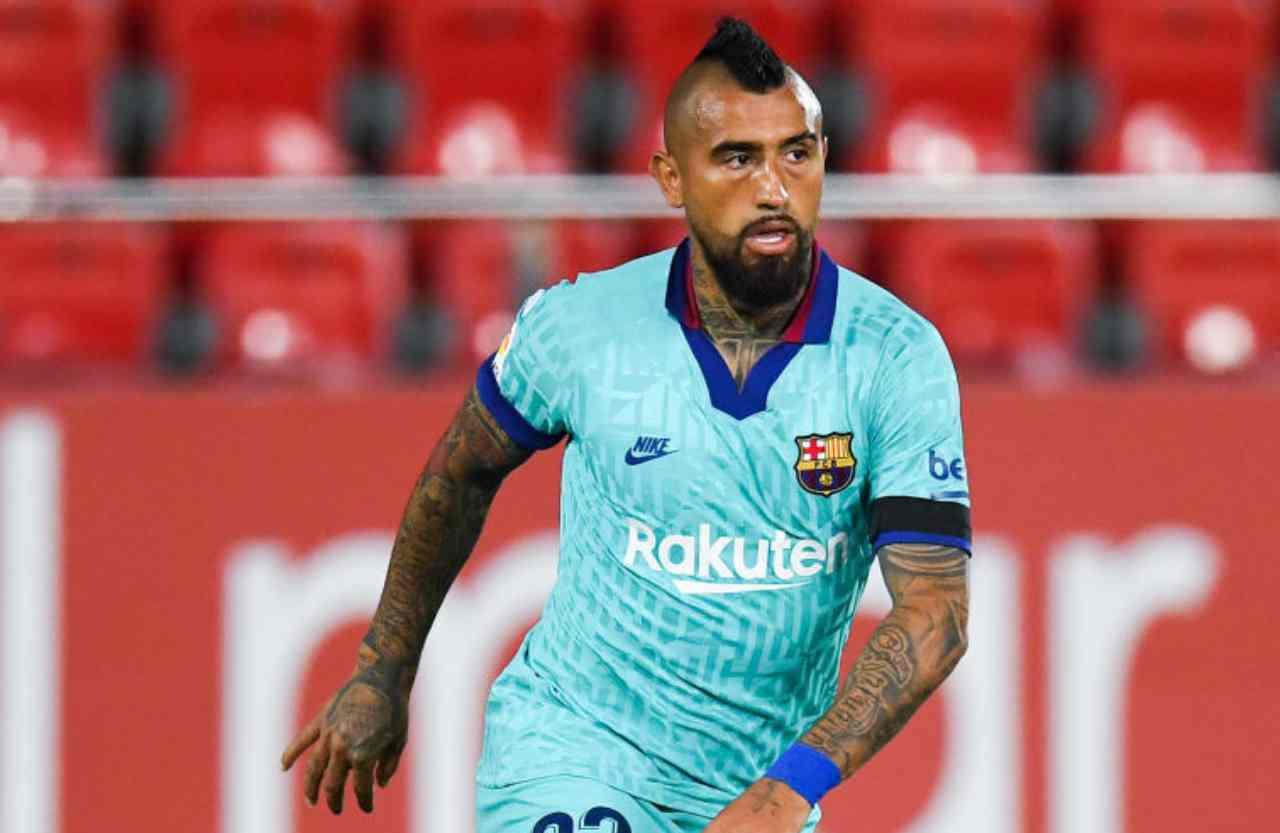 Inter, il Barcellona si tiene stretto Vidal (Getty Images)