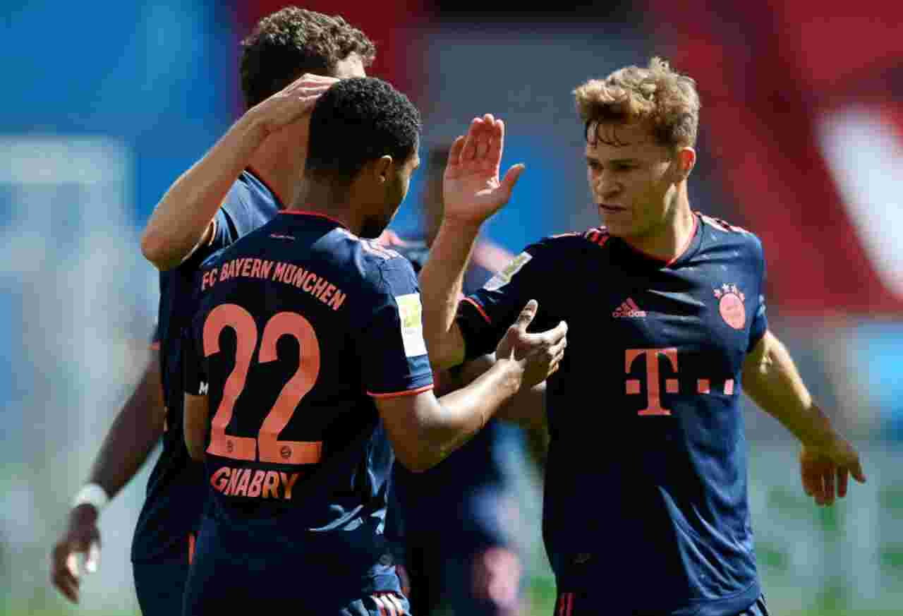 Bundesliga: Bayern Monaco, poker da record al Bayer Leverkusen - highlights