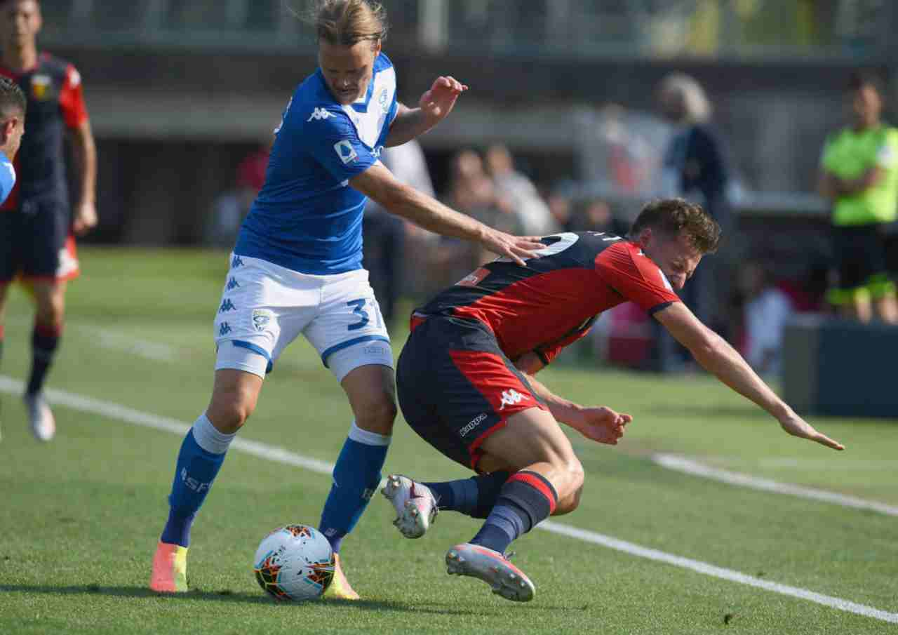 Serie A, highlights Brescia-Genoa: gol e azioni partita - Video