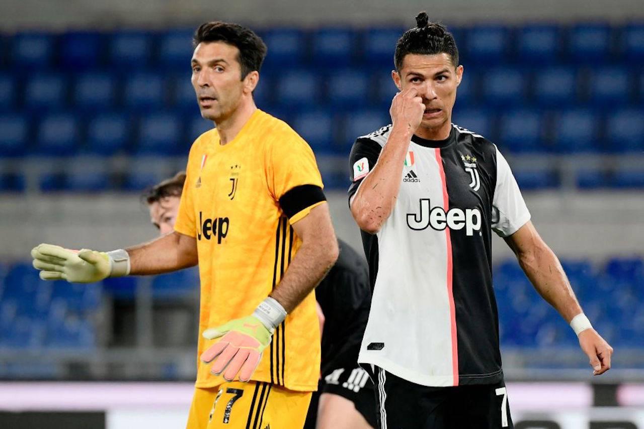 Juventus, duro confronto Buffon-Ronaldo: cosa è successo