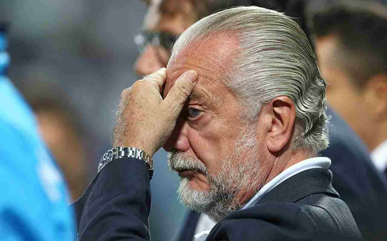 De Laurentiis furioso per la chiamata tra Pirlo e Milik (Getty Images)