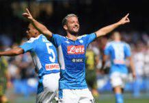Mertens, il rinnovo con il Napoli si avvicina: l'accelerata di De Laurentiis (Getty Images)