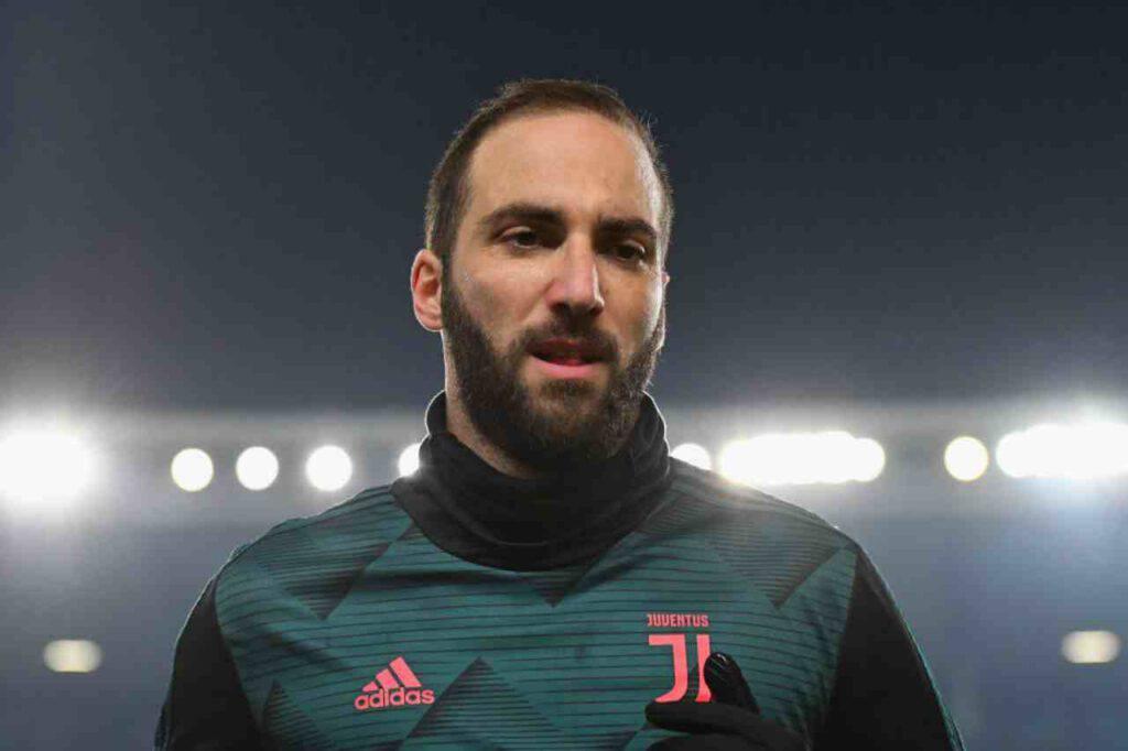 Juventus, si ferma Higuain: a rischio la Coppa Italia