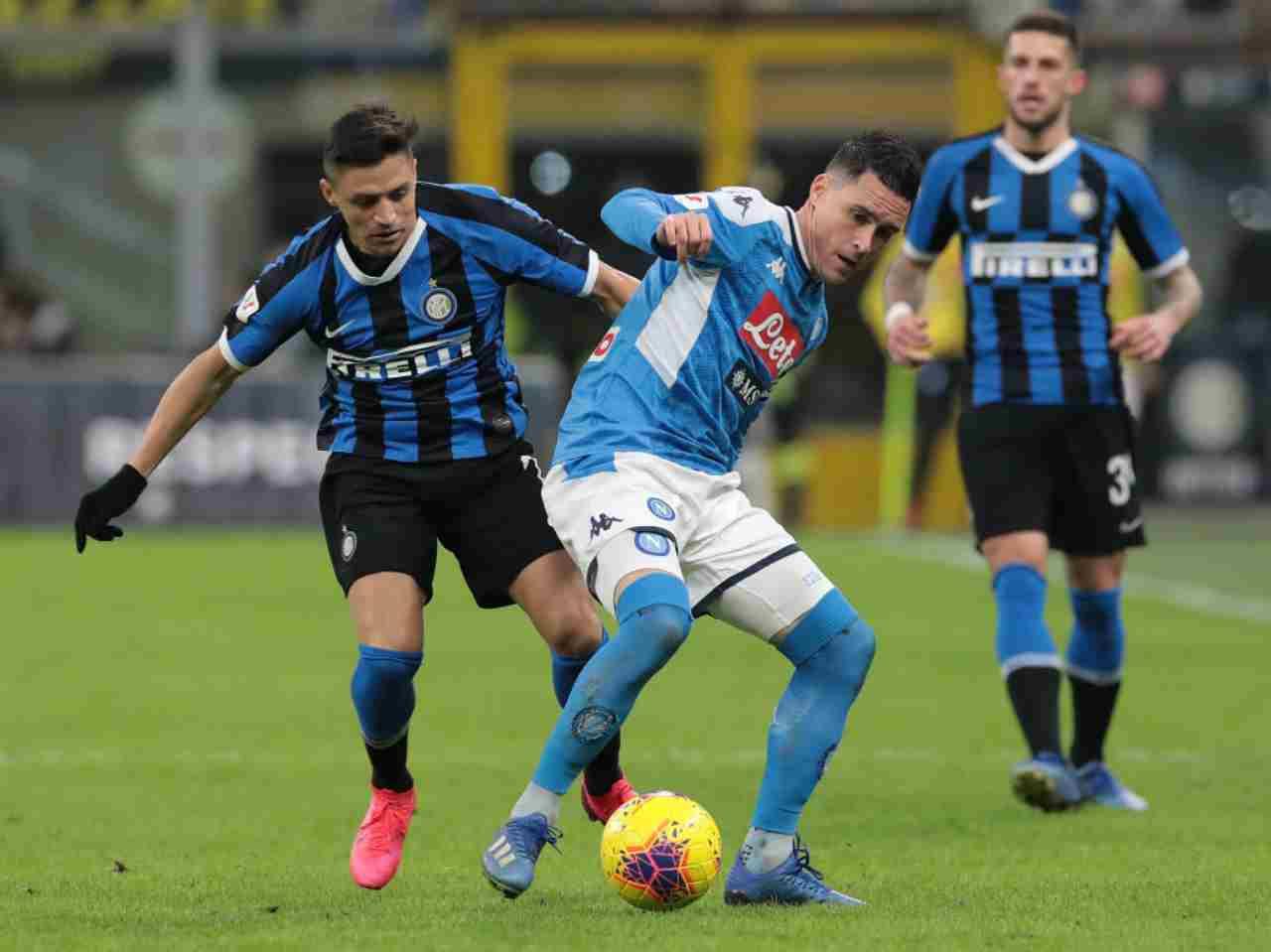 Coppa Italia, Napoli-Inter: chi si qualifica in finale, tutte le combinazioni