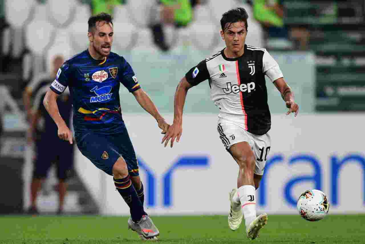 Moviola Juventus-Lecce: espulsione Lucioni e altri episodi, l'analisi